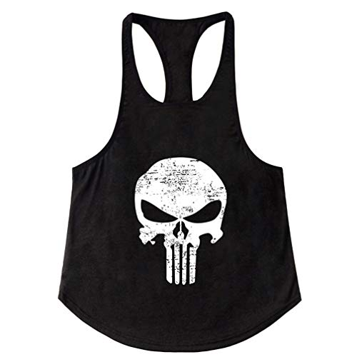 Befox Camisetas De Tirantes Deportivo Gimnasio Fitness Running Tops Transpirable Camisetas Tank Top Sin Manga