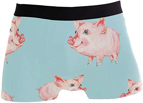 Süße Piggy Men Boxershorts Weiche Boxershorts von Comfort