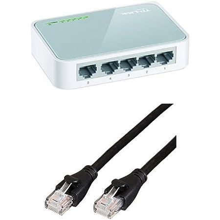 Tp Link Tl Sf1005d Netzwerk Switch 5 Ports 10 100mbit Computer Zubehör