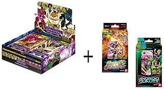 Dragon Ball Super Series 8 Malicious Machination Variety Booster Box & Both Decks