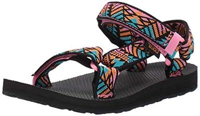 Teva Women's Original Universal Sandal, Boomerang Pink Lemonade, 8 Medium US