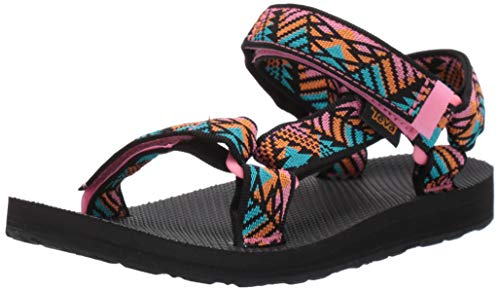 Teva Women's Original Universal Sandal, Boomerang Pink Lemonade, 8 Medium US