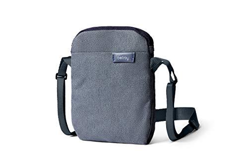 Bellroy City Pouch (borsa a tracolla, e-reader o piccolo tablet, portafoglio, occhiali da sole, cellulare) - Basalt