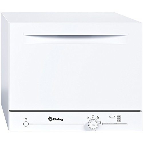Balay 3VK301BC - Lavavajillas compacto de libre instalación, 6 servicios, 4 programas, clase de...