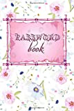 Password Book: Internet Password Organizer | Password Journal | Password Notebook | Password Logbook | Simple Password Keeper | 6X9 Large | 110 Pages
