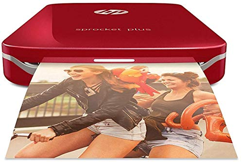 HP Sprocket Plus Instant Photo Printer (Red)