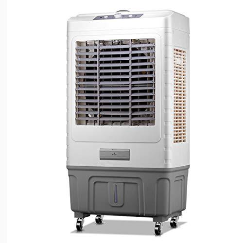 YWARX mobiele airconditioning 3-in-1 airconditioner: ventilator, koel- en luchtontvochtigingsfunctie (120° oscillatie, wieltjes) Silent/Lichtbruin