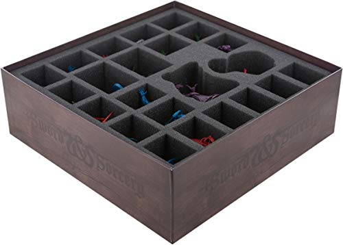 Feldherr Foam Set Compatible with Sword and Sorcery: Darkness Falls - Board Game Box