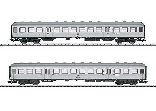 Märklin 43147 H0 2er-Set Personenwagen Silberlinge der DB