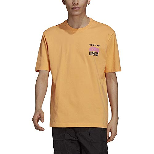 adidas Herren Adv Mnt Back Te T Shirt, Hazy Orange, XL EU