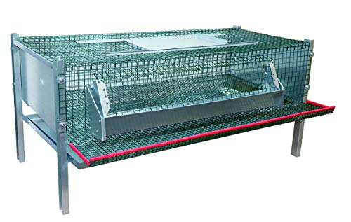 Hemel Legebox für Wachteln aus Metall 100 x 50 x 50 cm Nr. 41450