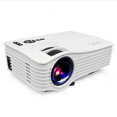 TQ UNIC LCD Mini Projektor LED-Projektor 200 LM Unterstützung 1080P (1920X1080) 40-100 Zoll Bildschirm/VGA (640X480)/± 15 °