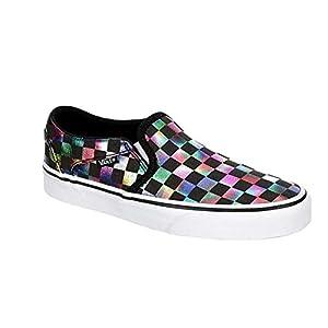 Vans Women Asher Slip-On Sneaker Black (Numeric_6_Point_5)