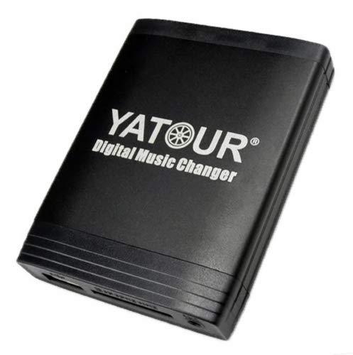 Yatour YTM06-NIS-BT Adaptador de Musica Digital para Coche USB SD AUX Bluetooth Manos Libres cambador CD para Nissan mp3