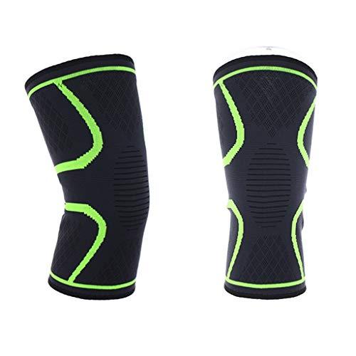 Serria® 2 stücke Kniebandage Sport Kompression Elastische Knieschoner Atmungsaktiv rutschfest Knieschützer Verletzungsvorbeugung Und Schmerzentlastung Gelenken, Arthritis, Sehnenentzündung