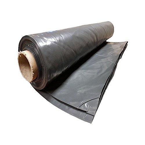 Heavy Duty Polythene Plastic sheeting 4M Wide Rolls 300MU/1200 Gauge 2M X 4M