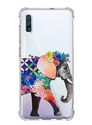 Oihxse Transparente Silicona Funda Compatible con Samsung Galaxy Note 10 Pro/Note 10 Plus Carcasa Ultra-Delgado Suave TPU Gel Airbag Esquinas Anti Rasguños Lindo Protector Case Bumper(A12)