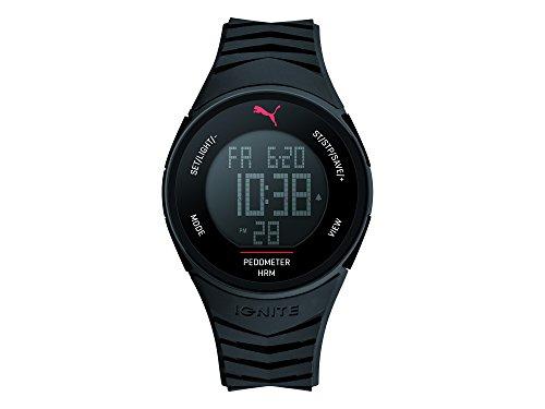 Puma Time Herren-Armbanduhr 91135 IGNITE - BLACK Digital Quarz Plastik PU911351003
