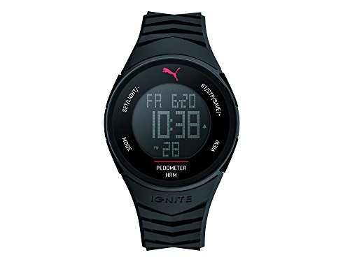 Puma Time Herren-Armbanduhr 91135 IGNITE - BLACK Digital Quarz Plastik PU911351003