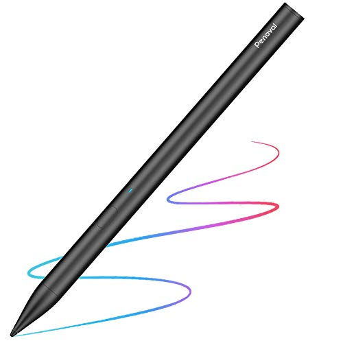 Penoval Stylus Pen for Apple iPad, Palm Rejection Rechargeable Digital Drawing iPad Pencil for iPad (6th Gen), iPad Air (3rd Gen), iPad Mini (5th Gen) and IPad Pro (3rd Gen) -Black