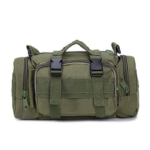 Ever Fairy Sac de déploiement Tactique Militaire Utilitaire Sac de Taille Tactique pour Le Camping Voyage randonnée de Sport en Plein air (armée Verte)