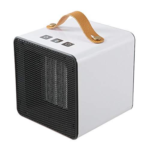 Calentador eléctrico, portátil Fast calefacción Calentador de cerámica Ventilador del Calentador, Timing 8H Protección del sobrecalentamiento para Office Dormitorio turística