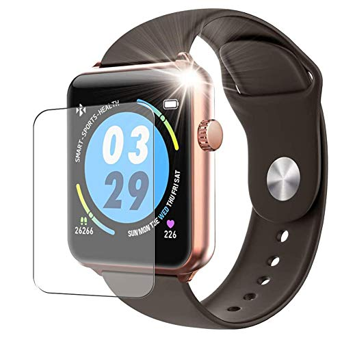 Vaxson 3 Stück Schutzfolie, kompatibel mit ELEPHONE W6 Smartwatch smart watch, Displayschutzfolie TPU Folie [ nicht Panzerglas ]