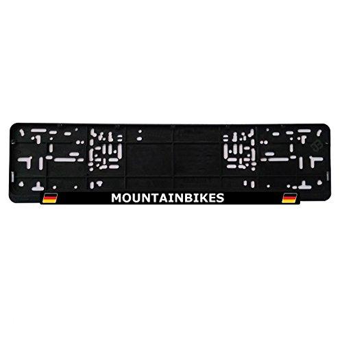 JOllify MOUNTAINBIKES kentekenplaatbevestiging kentekenplaathouder - Aantal: 1 stuk Ontwerp: Duitsland vlag
