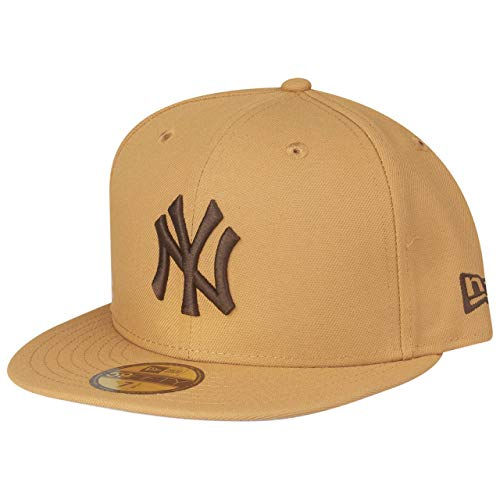New Era 59Fifty MLB York Yankees - Gorra, Color marrón