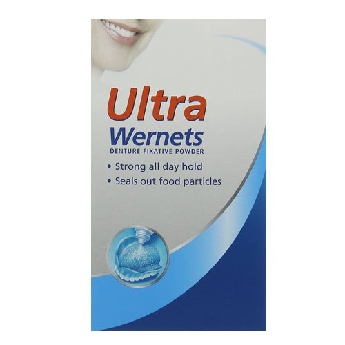 Wernets Polygrip Ultra Denture Fixative Powder - 40 g by Wernets