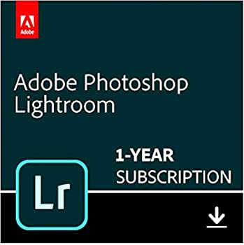 Adobe Lightroom   Photo editing and organizing software   12-month Subscription with auto-renewal PC/Mac