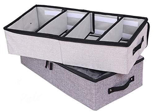 2 Packs Under Bed Storage Bins