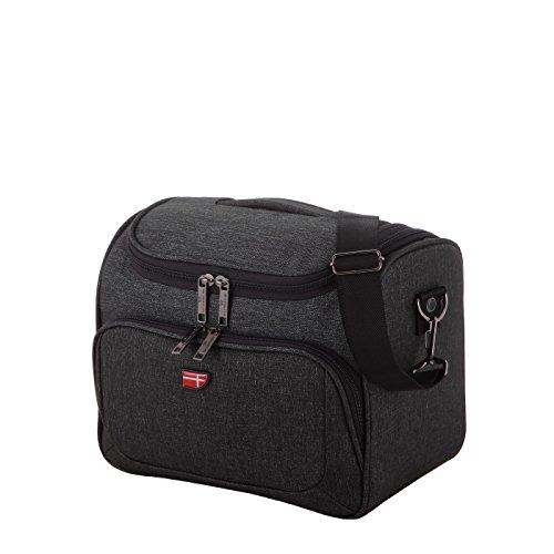 Von Cronshagen Beauty Case für Damen und Herren, innen abwischbare Kulturtasche für Reisen und Urlaub, Kosmetikkoffer mit Inneneinteilung, Kulturbeutel für Kosmetik- und Pflegeprodukte
