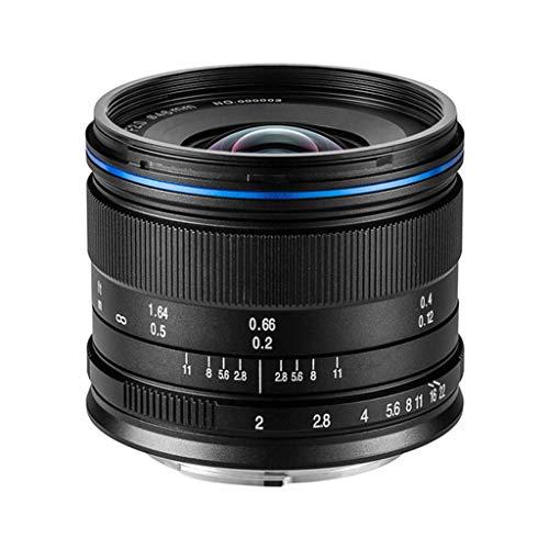 Laowa VE7520MFTSTBLK 7,5 mm Objektiv für Micro 4/3 Kameras (16,9 MP, HD 720 P), schwarz