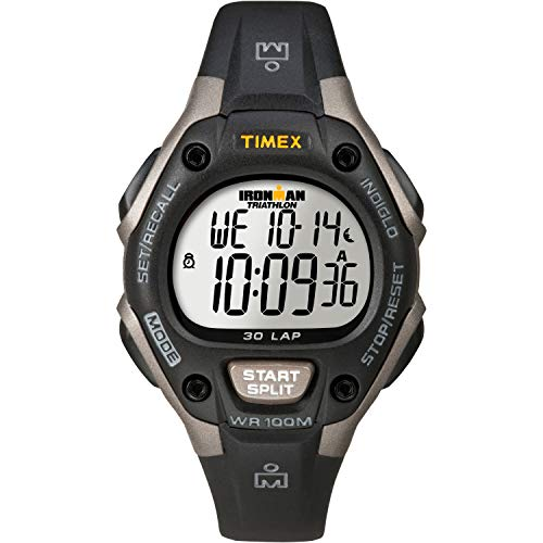 Timex Pay Quartz Sport Watch with Silicone Strap, Black, 14 (Model: TW5M38100)