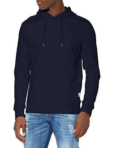 Jack & Jones Jjebasic Sweat Hood Noos Sudadera con Capucha, Azul Marino, XL para Hombre