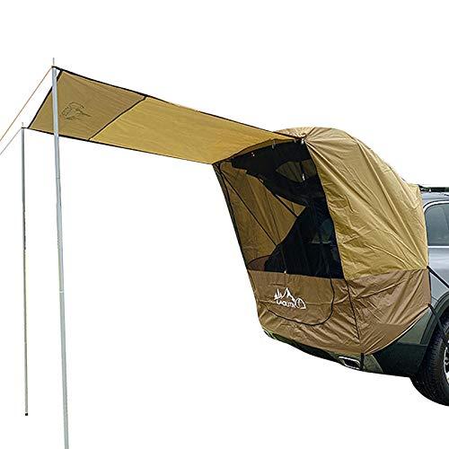 Tienda de campaña de coche para coche, toldo impermeable, toldo para caravana, portón trasero, toldo para SUV, Hatchback, furgoneta, sedán, camping, al aire libre