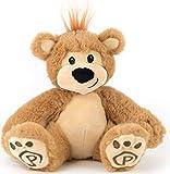 "Pawley The Stuffed Teddy Bear - Cute Stuffed Animal for Kids - Adorable Plushie Bear 10"""