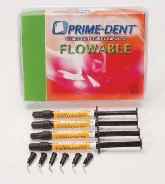 Prime Dental 004-010A2 VLC Flowable Refill 2gm 4/Pk A2