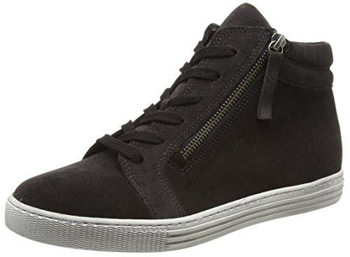 Gabor Shoes Gabor Shoes Damen Comfort Basic Derbys, Grau (39 Dark-Grey (Micro), 42 EU
