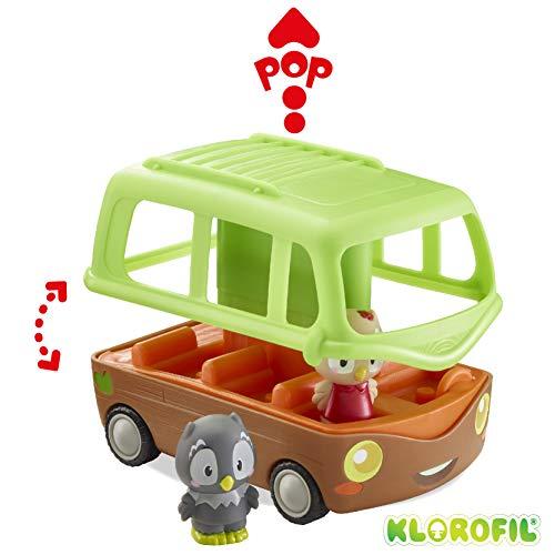 Klorofil- Bus Aventure Jouet D'éveil, 700203, Multicolore