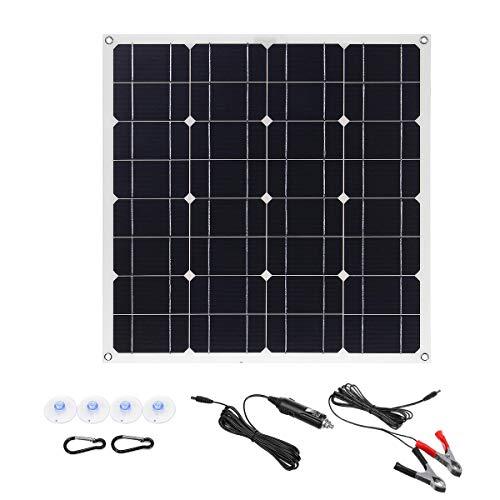 Yangxz 18V 150W Mono Solar Panel USB 12V / 5V DC Monokristalline Flexible Solar-Ladegerät for Auto RV Boot Batterieladegerät Wasserdicht Generator Zubehör