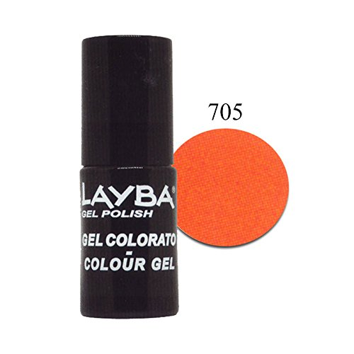 Layla Layba - Vernis à ongles Primer couleur corail fluo