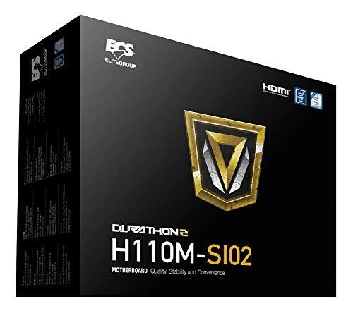 ECS Elitegroup H110M-SI02 (1.0) Motherboards
