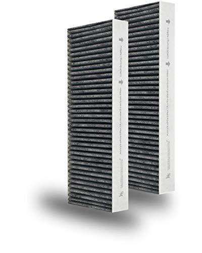 Bora Aktivkohlefilterset Basic (2 Stück) Ersatzbedarf für Bora Kochfeld/Bora Dunstabzug Effektive Lufterfrischung durch Aktivkohlefilter BAKF für IHRE Bora Küche - Frische Garantie -