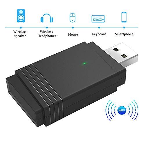 Herewegoo 1200 Mbps USB 3.0 Draadloos netwerk WiFi Adapter Dongle Dual Band Bluetooth 5.0 Ingebouwde Dual Antenne