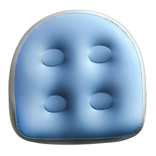 CUTICATE Soft Waterproof PVC Inflatable Bathtub Massage Cushion with Suction Cup for Spa and Hot Tub