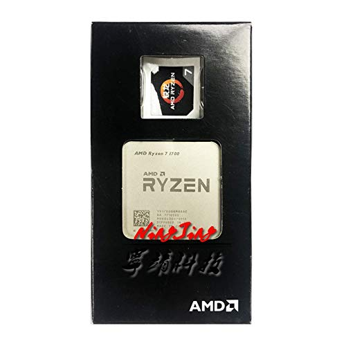 Ryzen 7 1700 R7 1700 3.0 GHz Eight-Core CPU Processor YD1700BBM88AE Socket AM4 New But Without Cooler