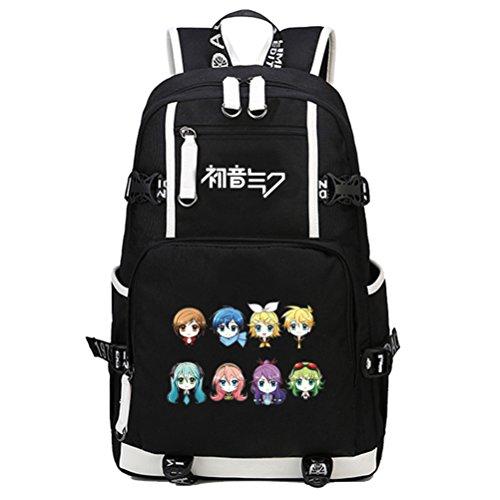 Siawasey Hatsune Miku Vocaloid Cosplay Bookbag Rucksack Schultertasche Schulranzen (02)