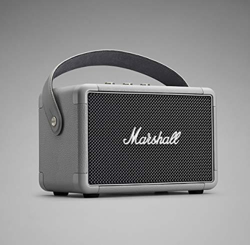 Marshall Stockwell Mono - Altavoz portátil (Bluetooth 4.0, USB, 25W, Bass-reflex, entrada auxiliar de 3.5 mm, 100 - 240 V), color negro